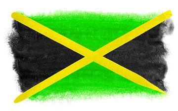 Symbolische nationale vlag van Jamaica van Achim Prill