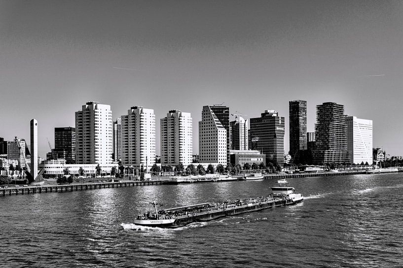 Skyline Rotterdam van Ton de Koning