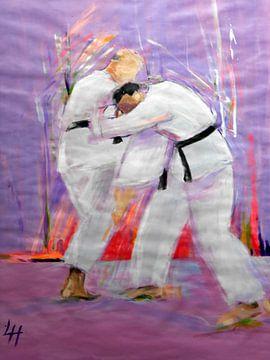 Karate - Hizageri von Lucia Hoogervorst