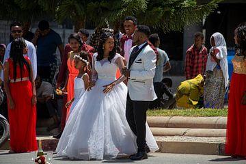 Wedding in Africa van Bram de Muijnck