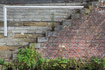 Treppe entlang des Dijle in Mechelen von didier de borle