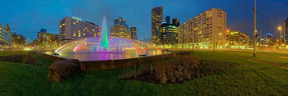 Rotterdam Hofplein fontein van Bob de Bruin