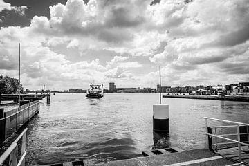 Die Fähre, Amsterdam von Saskia Bakker