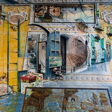 Colours of Salerno II van Caroline Boogaard