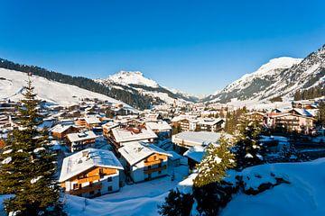 Lech am Arlberg in Österreich von Werner Dieterich