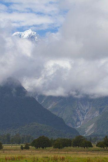 Mount Cook Nieuw Zeeland van Jeroen Meeuwsen