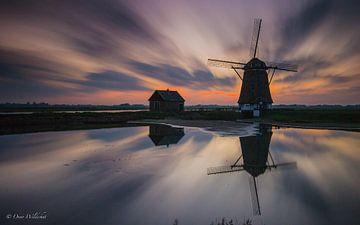 Mühle Der Norden auf Texel von Onno Wildschut