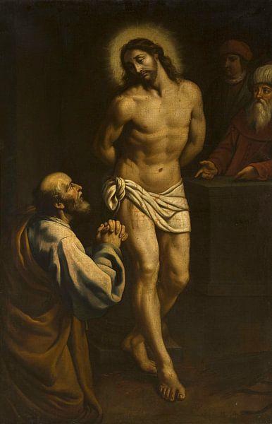 Die Reue des heiligen Petrus, Juan de Valdés Leal von Meesterlijcke Meesters