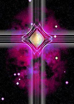 Purple cross van Leopold Brix