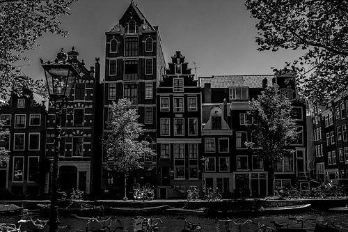 Amsterdamse grachtengevels von Pier Giorgio Tesser