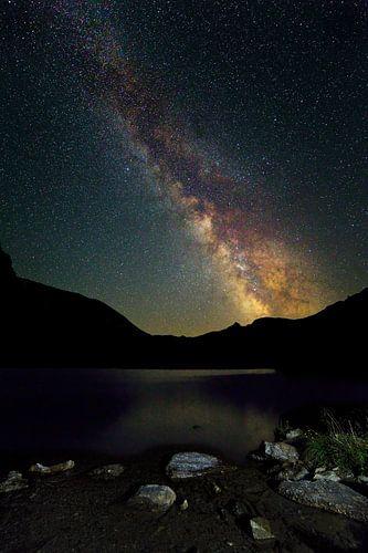 Melkweg in Oostenrijk van