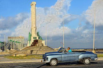 oldtimer in Cuba. von Tilly Meijer