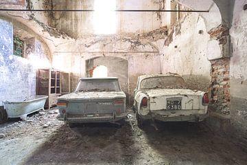 verlassene Autos von Kristof Ven