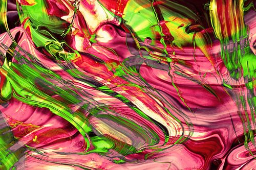ABSTRACT COLORFUL PAINTING IA