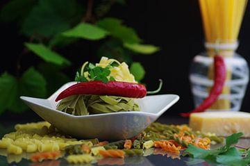 Italienische Pasta Food Design für die Küche von