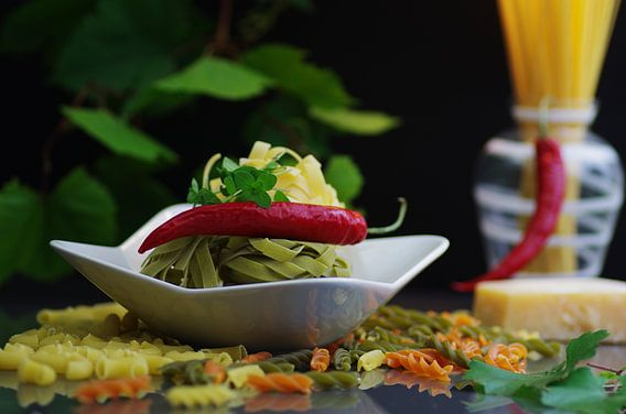 Italian Pasta Food Design voor de keuken van Tanja Riedel