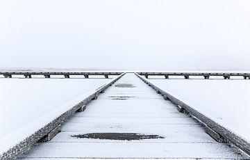 Winterse steiger van Jo Pixel
