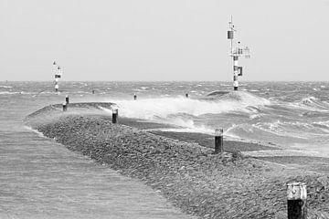 Ruwe Waddenzee van Albert Wester Terschelling Photography