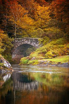 Brücke bei Acharacle (Ardnamurchan) von Pascal Raymond Dorland
