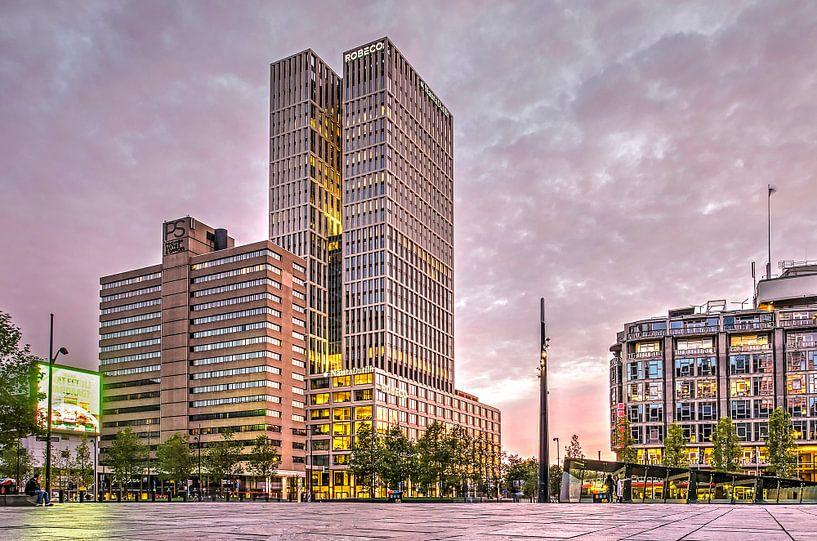 Rotterdam Central District van Frans Blok