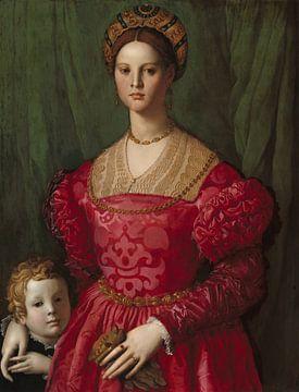 Une jeune femme avec son fils, Agnolo Bronzino - vers 1540 sur