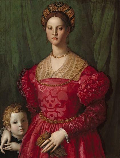 Une jeune femme avec son fils, Agnolo Bronzino - vers 1540