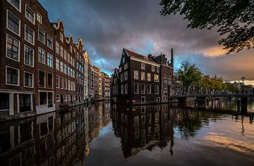 Amsterdam Burgwallen von Mario Calma