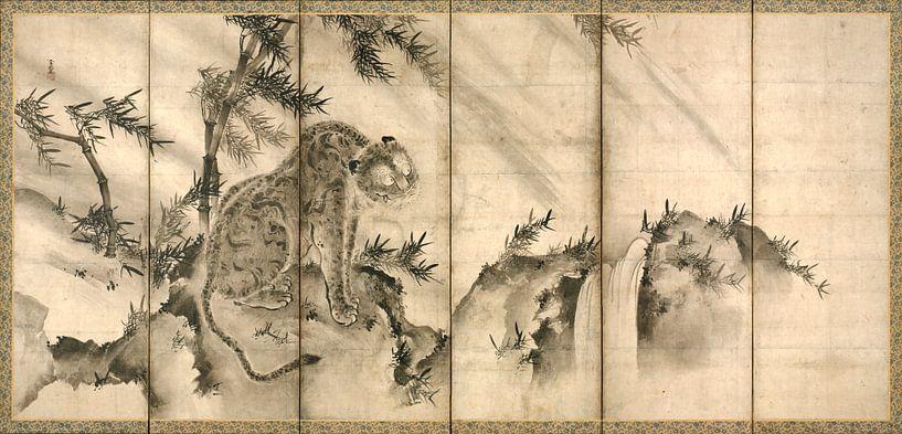 Sesson Shūkei. Tiger van 1000 Schilderijen