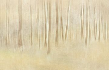 Abstrakter Wald sur Heike Hultsch
