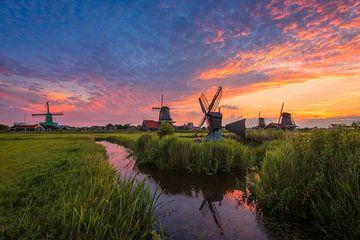 Nederlands landschap von Pieter Struiksma