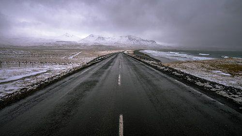 Icelandic roads van