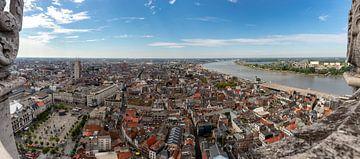 Vue de la cathédrale d'Anvers : Direction Groenplaats sur Martijn Mureau