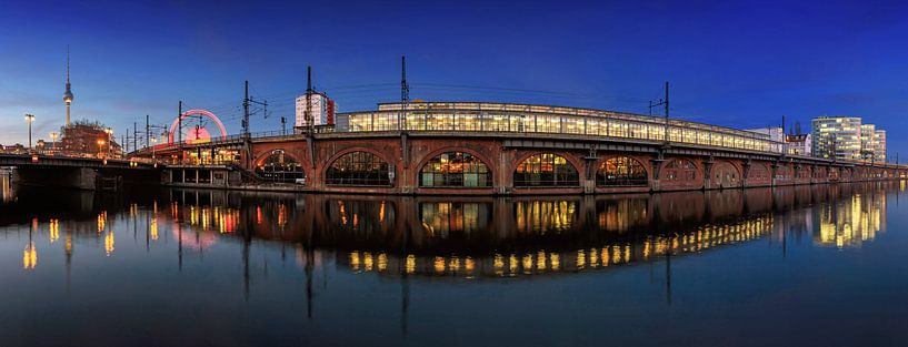 Pont Jannowitz de Berlin sur Frank Herrmann