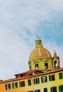 Hemelse daken in Florence