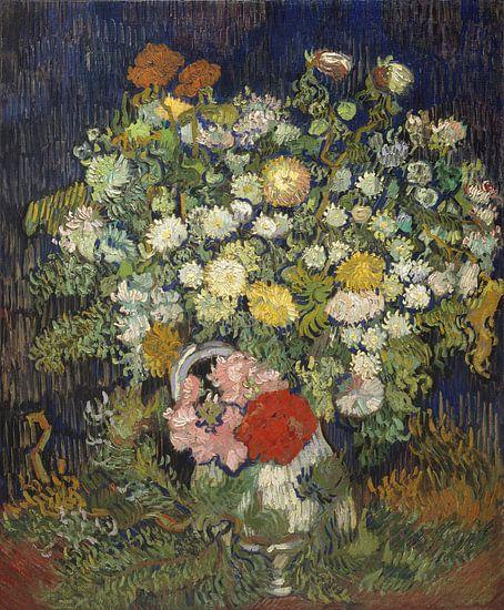 Boeket van Bloemen in een Vaas, Vincent van Gogh