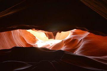 Antilope Canyon  sur Peter De Knock