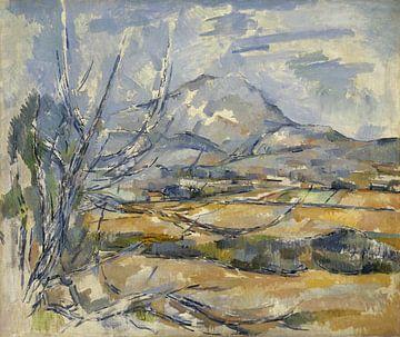 Paul Cezanne - Montagne Sainte-Victoire van 1000 Schilderijen