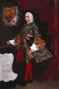 Don Juan Xavier Joachín Gutiérrez Altamirano Velasco, Miguel Cabrera
