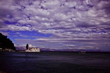 Landschap Corfu von Cora Unk