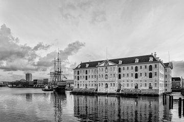 Het Scheepvaartmuseum in Amsterdam. sur Don Fonzarelli