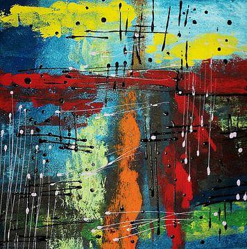 """ Toile "" van Marcella Mandis"
