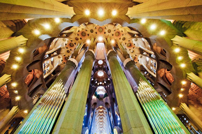 Gaudi is my hero - part 2 (Sagrada Familia) van Laura Vink