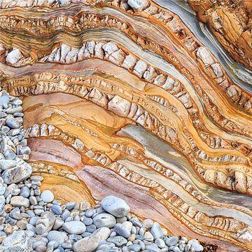 Kust van Asturie, rots  van Paul Roholl