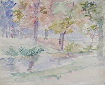 Eugène Manet-Landschaftsherbst