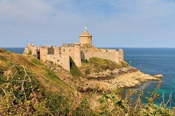 Kasteel Fort la Latte Bretagne von Dennis van de Water