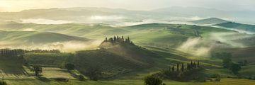 Toscaanse ochtend 1 von Edwin Mooijaart