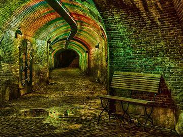 Ganzenmarkt tunnel Utrecht van Elles Rijsdijk