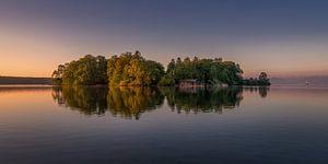 Het Rozeneiland in de Starnberger See