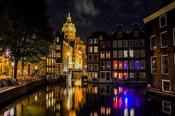 Amsterdam am Abend von Romy Oomen
