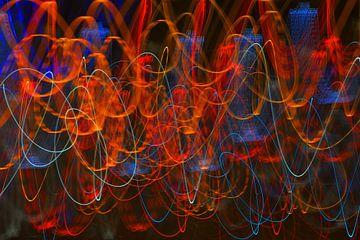 Neon Open & Frisdranken, golvende kleuren van Georges Hoeberechts